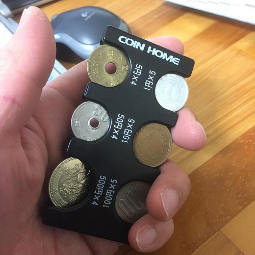 小銭の持ち運びはスマートなほうがいいよね。